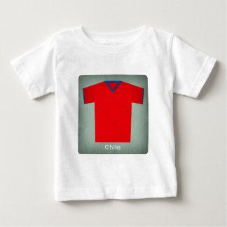 Retro Football Jersey Chile Baby T-Shirt