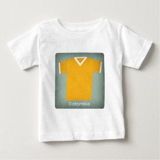 Retro Football Jersey Colombia Baby T-Shirt