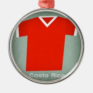 Retro Football Jersey Costa Rica Christmas Ornament