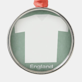 Retro Football Jersey England Christmas Ornament