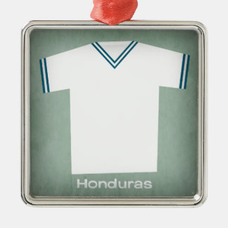 Retro Football Jersey Honduras Christmas Ornament