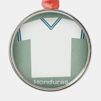 Retro Football Jersey Honduras Christmas Ornament