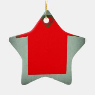 Retro Football Jersey Iran Christmas Ornament
