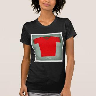 Retro Football Jersey Iran T-Shirt