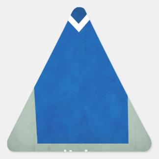 Retro Football Jersey Italy Triangle Sticker