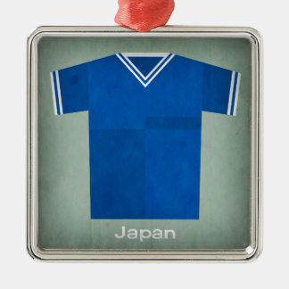 Retro Football Jersey Japan Christmas Ornament