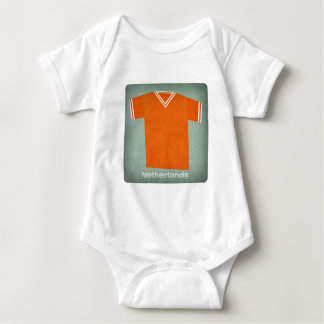 Retro Football Jersey Netherlands Baby Bodysuit