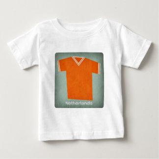 Retro Football Jersey Netherlands Baby T-Shirt