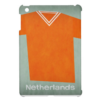 Retro Football Jersey Netherlands iPad Mini Cover