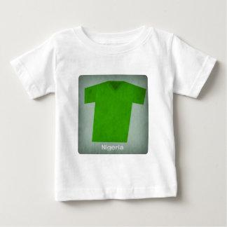 Retro Football Jersey Nigeria Baby T-Shirt