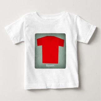 Retro Football Jersey Spain Baby T-Shirt