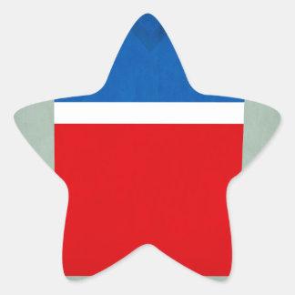 Retro Football Jersey United States Star Sticker