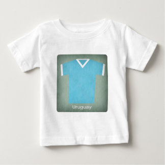 Retro Football Jersey Uruguay Baby T-Shirt