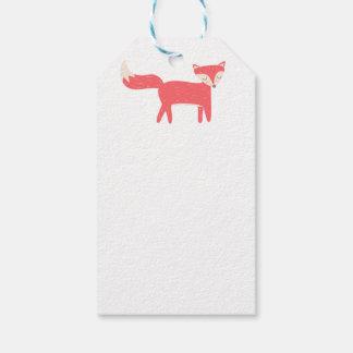 Retro Fox Gift Tags