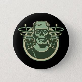 Retro Frankenstein 6 Cm Round Badge