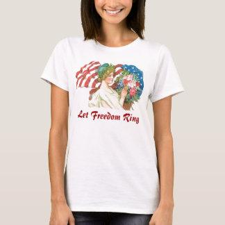 retro freedom lady T-Shirt