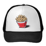 retro french fries design cap