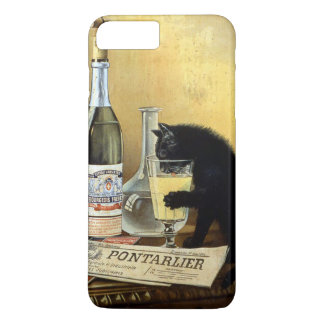 """Retro french poster """"absinthe bourgeois"""" iPhone 8 plus/7 plus case"""
