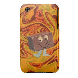 Retro Fudge Acid Trip Case iPhone 3 Case-Mate Cases