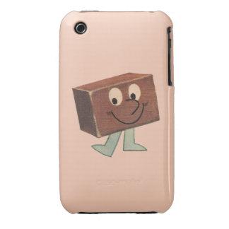 Retro Fudge Vintage Cartoon Candy Case-Mate iPhone 3 Case
