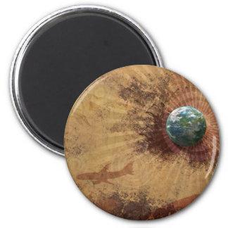 RETRO FULL GLOBE MAGNETS