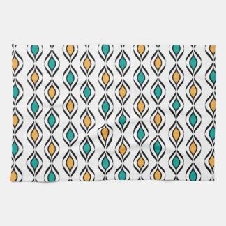 Retro Fun Patterns Kitchen Towels