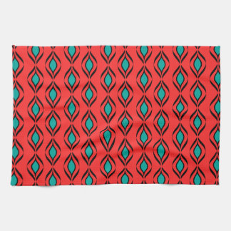 Retro Fun Patterns Towel