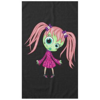 Retro Fun Zombie Girl Tablecloth