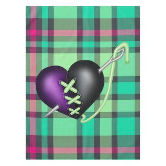 Retro Fun Zombie Heart Tablecloth