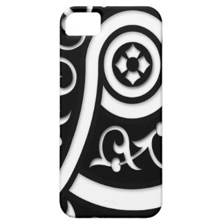 Retro Funky Black and White Design iPhone 5 Case