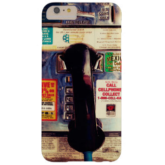Retro Funny US Public Pay Phone - Cool and Unique Barely There iPhone 6 Plus Case