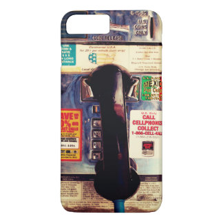 Retro Funny US Public Pay Phone - Cool and Unique iPhone 7 Plus Case