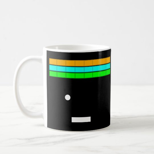 Retro game themed mug