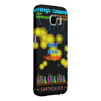 Retro Gamer Earthsaver Missiles Samsung Galaxy S6 Cases