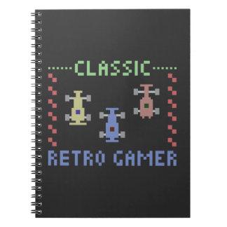 Retro Gamer Racing Note Books