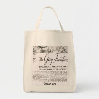 "Retro ""Gay 1920s Travel"" Tote Bag"