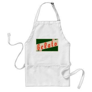 retro gelato standard apron