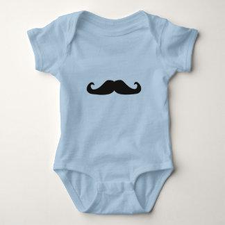 Retro gentelman mustaches hipsters Infant Creeper