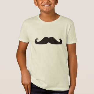 Retro gentelman mustaches hipsters tshirt