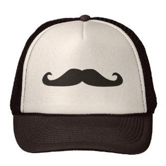 Retro gentelman mustaches illustration cap