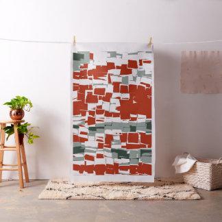 Retro Geometric Mosaic Abstract Art #5 Fabric