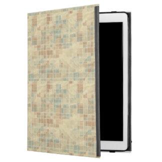 "Retro geometric pattern 2 2 iPad pro 12.9"" case"