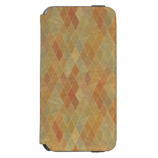 Retro geometric pattern 2 incipio watson™ iPhone 6 wallet case