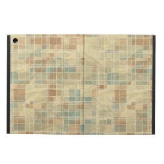 Retro geometric pattern 2 iPad air case