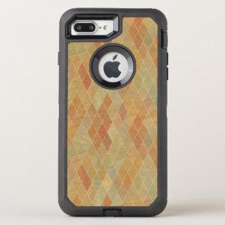 Retro geometric pattern 2 OtterBox defender iPhone 8 plus/7 plus case