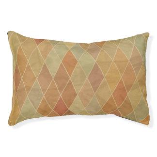 Retro geometric pattern 2 pet bed