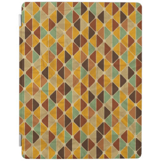 Retro geometric pattern 3 iPad cover