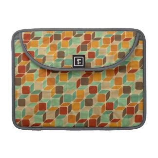 Retro geometric pattern 4 sleeve for MacBooks
