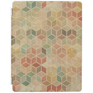 Retro geometric pattern 5 iPad cover