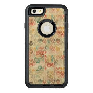 Retro geometric pattern 5 OtterBox defender iPhone case